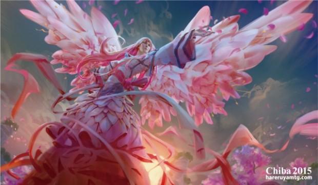 Sakura Angelプレイマット