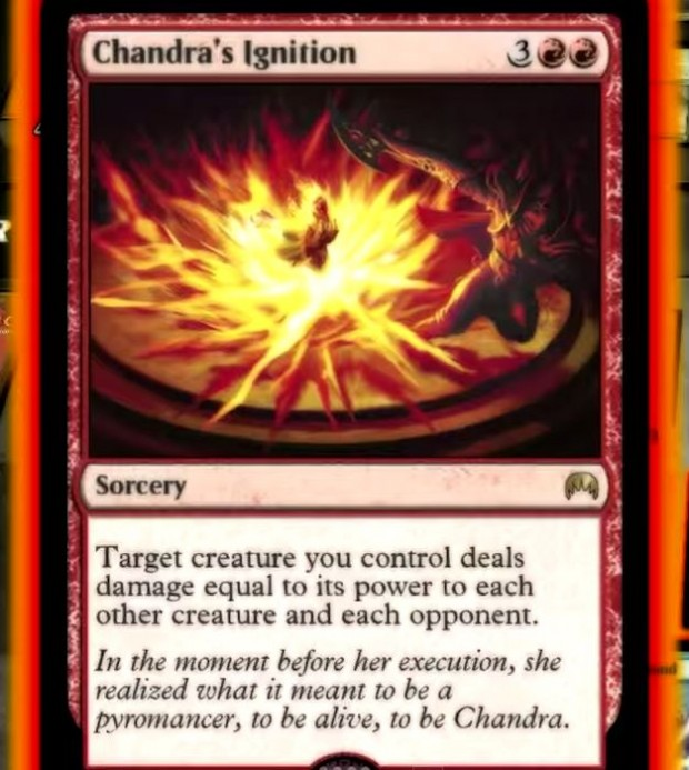 Chandras ignition