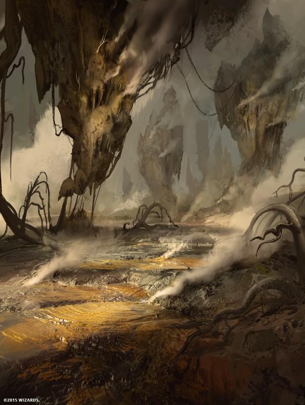 タンゴ燻る湿地