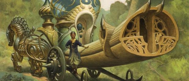 耕作者の荷馬車