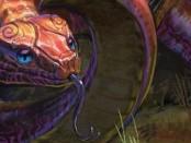 巻き付き蛇