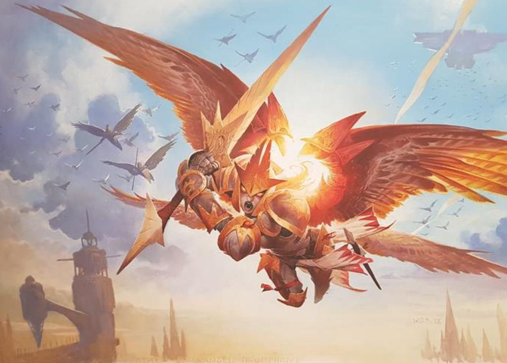 Feather-the-Redeemed-War-of-the-Spark-Art
